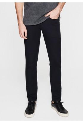 Mavi Siyah Gabardin Pantolon