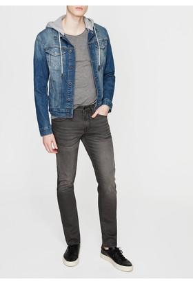 Mavi Jake Gri Kaplamalı Mavi Black Jean Pantolon
