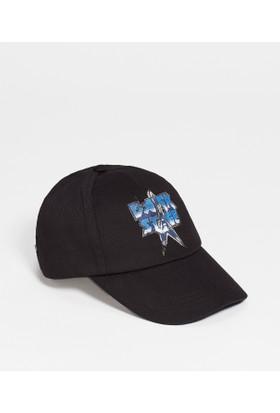 Mavi Siyah Şapka