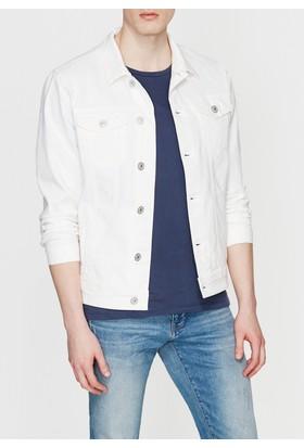 Mavi Frank Beyaz Comfort Jean Ceket