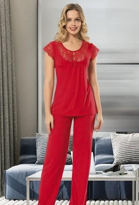 Angel's Story 9705 Kısa Kollu Kadın Pijama Takımı