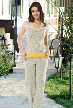Angel's Story 53975 Kadın Kısa Kollu Pijama Takımı