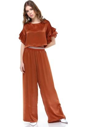 Bsl Kiremit Kadın Pantolon 9916