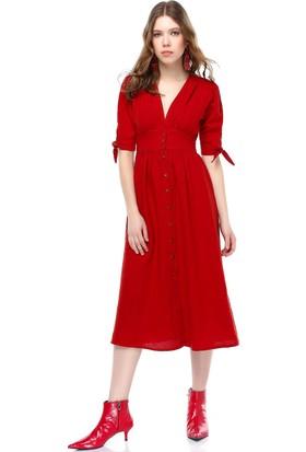 Bsl Kiremit Kadın Elbise 9922