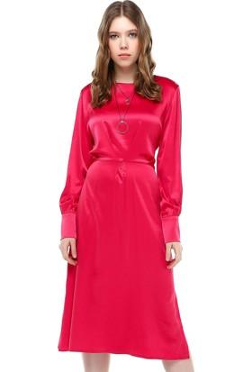 Bsl Fuşya Kadın Elbise 9929