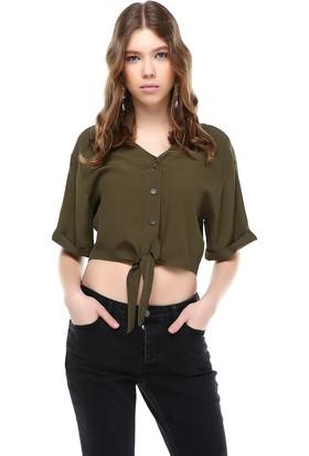Bsl Haki Kadın Bluz 9936