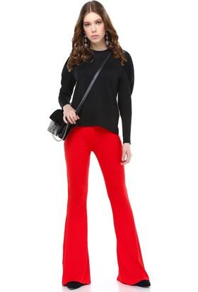 Bsl Kırmızı Kadın Pantolon 9955