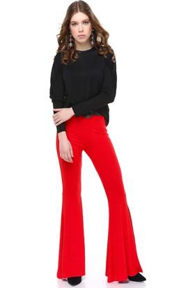 Bsl Kırmızı Kadın Pantolon 9964
