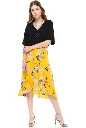 Bsl Sarı Kadın Etek 9971