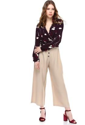 Bsl Bej Kadın Pantolon 9982