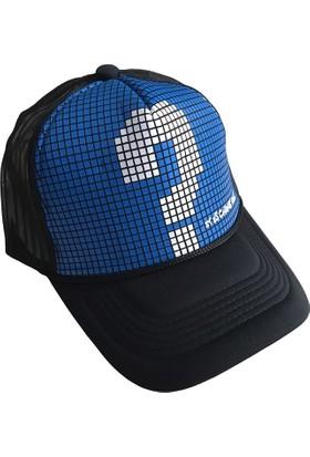 Outlet Çarşım Erkek Fileli Cap Şapka Kareli