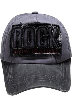 Outlet Çarşım Erkek Hip Hop Snapback Şapka Rock
