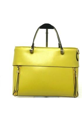 Mcs Line Kadın Omuz Çantası Sarı
