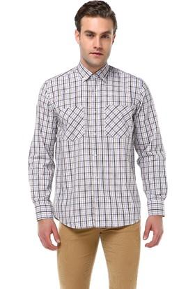 Varetta Klasik Kesim Uzun Kol Desenli Gömlek