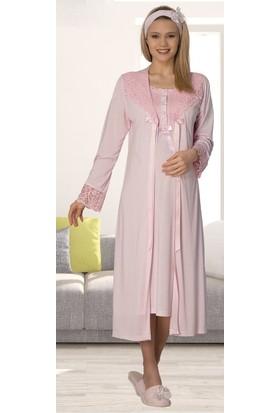 Şık Mecit 2012 Sabahlık Lohusa Pijama Gecelik Set