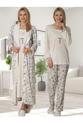 Şık Mecit 2022 Sabahlık Gecelik Pijama Set