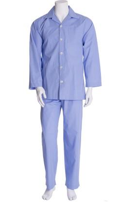 The DON Erkek Poplin Pijama Takımı