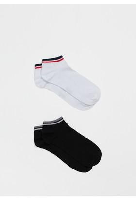 Mavi Erkek İkili Paket Lacivert Çorap