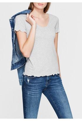 Mavi Kadın Gri Basic Tshirt