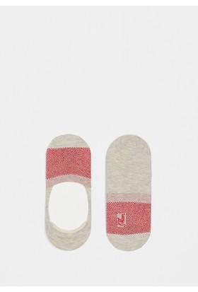 Mavi Kadın Beyaz Çorap