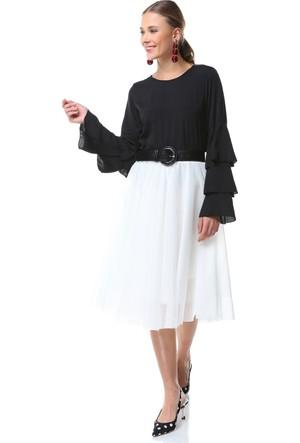 Su Moda Siyah Bluz