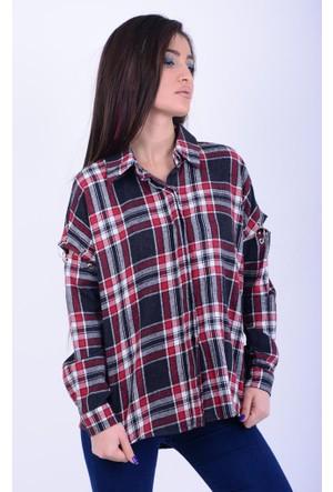 Cazibe Kadın Oduncu Gömlek 17-2B469075