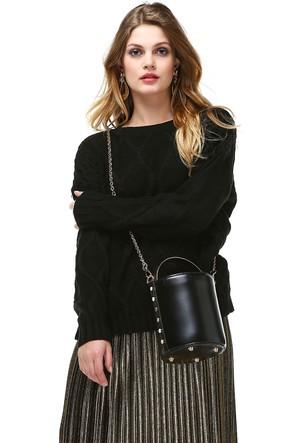 BSL Fashion Bsm Mirela Triko Kazak