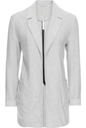 Bonprix Kadın Gri Blazer Ceket