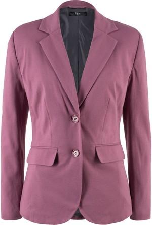 Bpc Bonprix Collection Kadın Pembe Önden Çift Düğmeli Blazer Ceket
