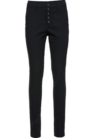 Bonprix Kadın Siyah Kumaş Pantolon