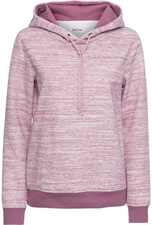 Bonprix Kadın Lila Kapüşonlu Sweatshirt