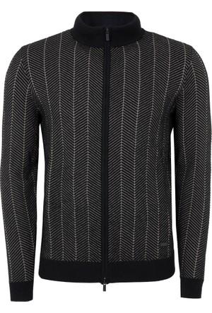 Armani Collezioni Erkek Sweatshirt Siyah 6YCE07CM15Z