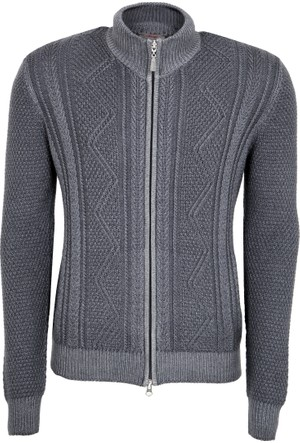 Gran Sasso Erkek Sweatshirt Antrasit 1312232723