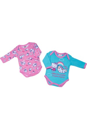 Hello Kitty Bebek 2'li Uzun Kol Body 12435