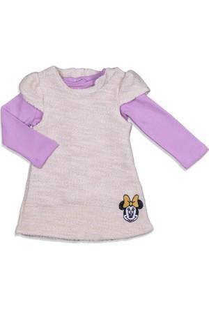 Disney Minnie Mouse Bebek 2'li Elbise Takım 12068