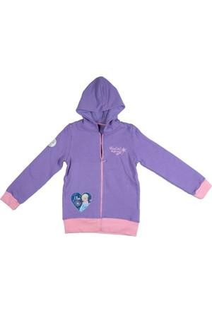 Disney Frozen Çocuk Kapüşonlu Sweatshirt 2685