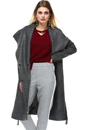 Dewberry Z6424 Kadın Palto