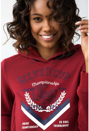 U.S. Polo Assn. Halper Sweatshirt Kırmızı