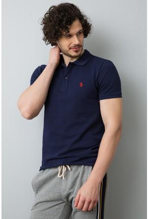 U.S. Polo Assn. Erkek Tp04İy7O T-Shirt Koyu Lacivert