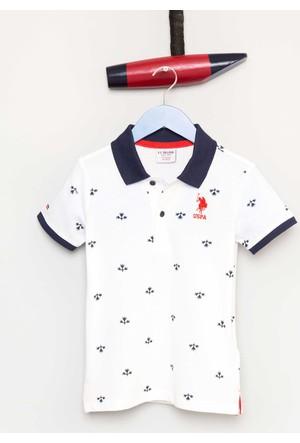 U.S. Polo Assn. Erkek Çocuk Jesser T-Shirt Beyaz