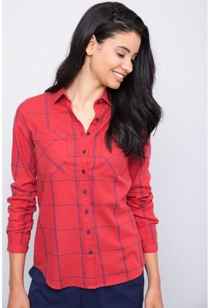 U.S. Polo Assn. Kadın Celina Gömlek Kırmızı