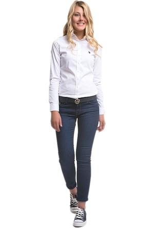 U.S. Polo Assn. Kadın Davine Pantolon Mavi