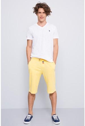 U.S. Polo Assn. Erkek Jawk Şort Sarı