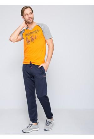 U.S. Polo Assn. Erkek Quin T-Shirt Turuncu