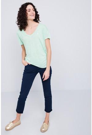 U.S. Polo Assn. Kadın Gadella T-Shirt Yeşil