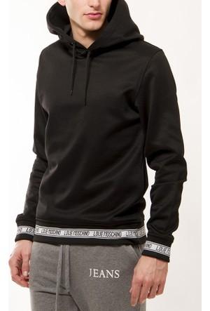 Moschino Erkek Siyah Sweatshirt