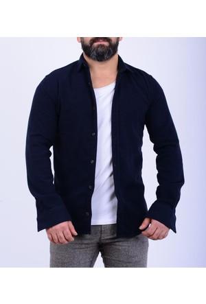 Melbourne Erkek Düz Oduncu Gömlek 17-2E518010
