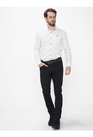Xint Dar Kesim Siyah Pantolon