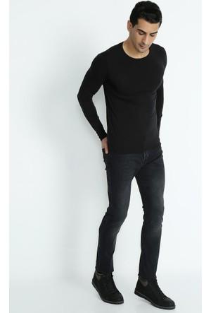 Xint 5 Cep Denim Yıkamalı Slim Fit Pantolon