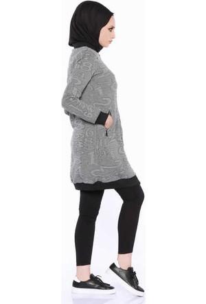 Zemin Giyim Rakamlı Tunik-2311